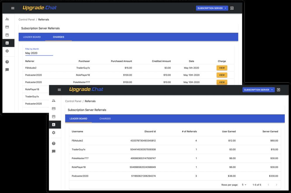 Discord Invite Referral Tracker